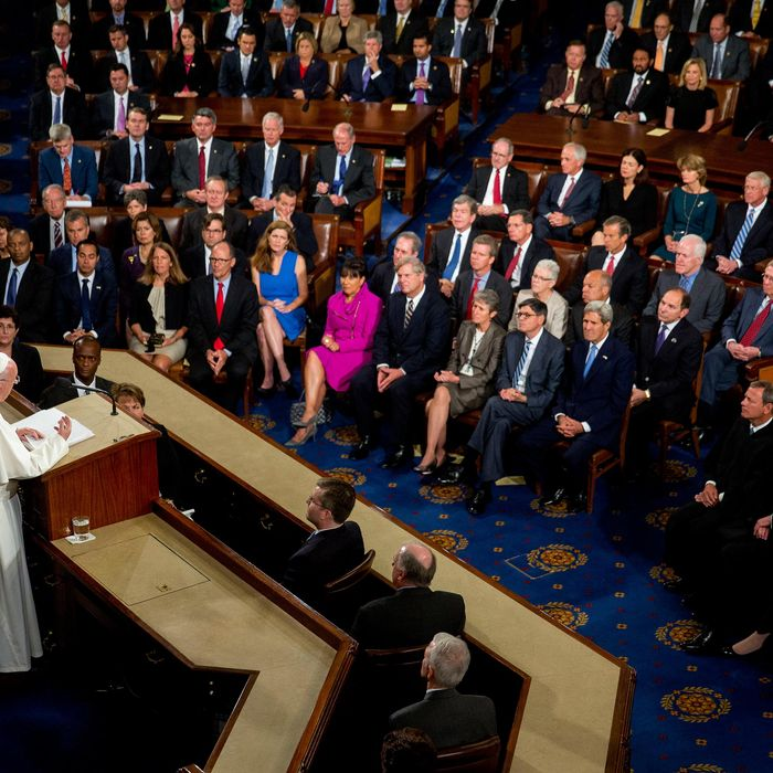 Pope Francis Addresses Joint Meeting Of Congress