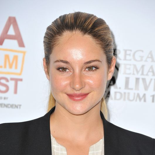 "LOS ANGELES, CA - JUNE 17:  Actress Shailene Woodley arrives at the premiere of A24's ""The Spectacular Now"" during the 2013 Los Angeles Film Festival at Regal Cinemas L.A. Live on June 17, 2013 in Los Angeles, California.  (Photo by Angela Weiss/Getty Images)"