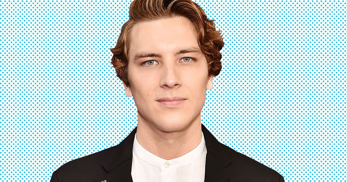 American Horror Story's Cody Fern Is in Love With His Antichrist Wig