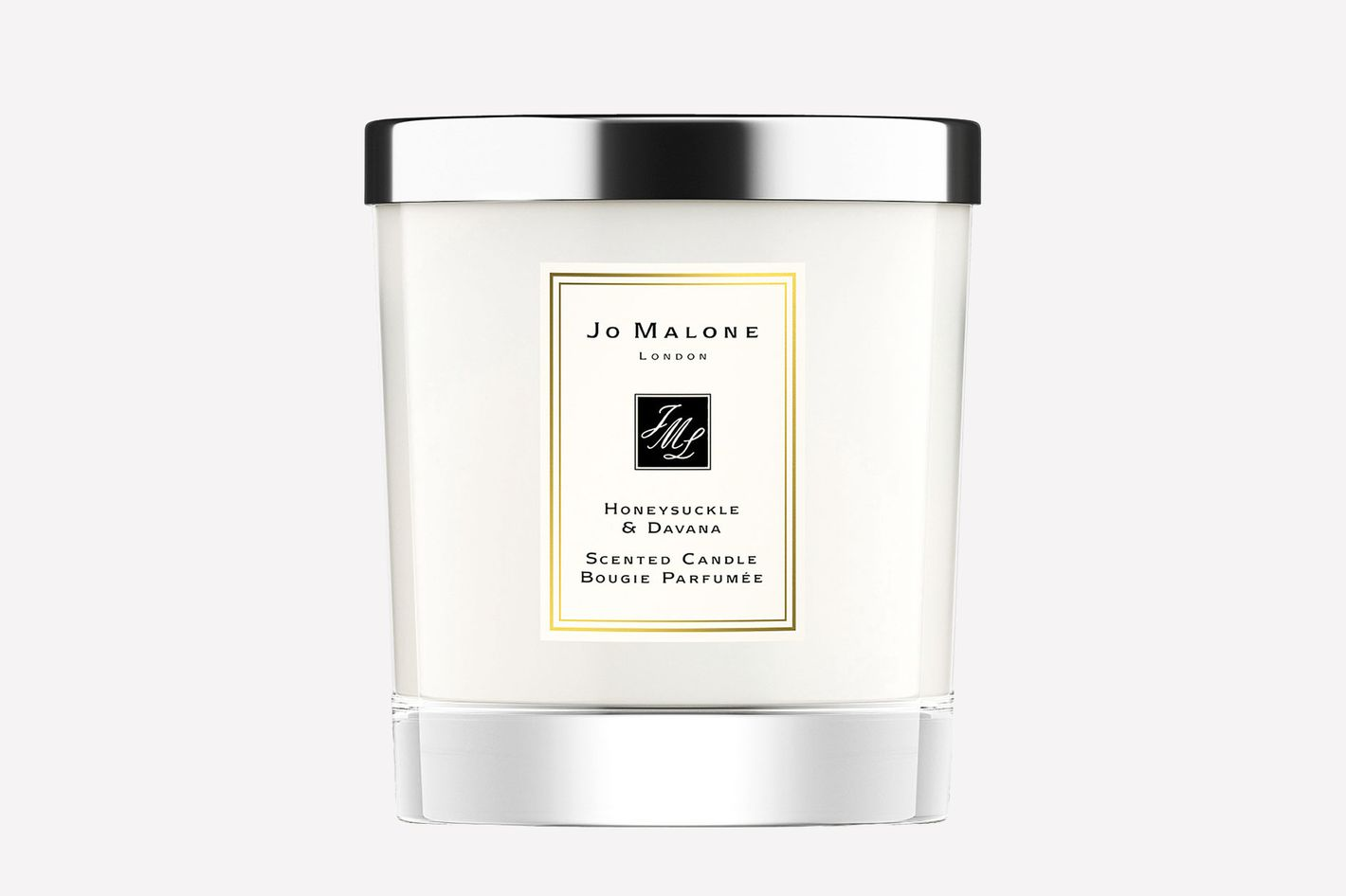 Honeysuckle and Davana Scented Home Candle