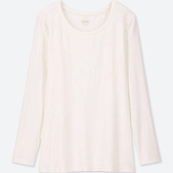 Uniqlo Women's Heattech Crewneck Long Sleeve T-shirt