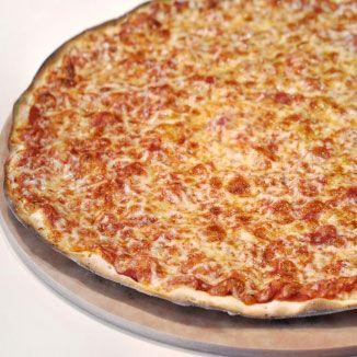 Half the pizza, half the carbs.