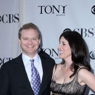 David Javerbaum, Debra Javerbaum== The Tony Awards== Radio City Music Hall, NYC== June 15, 2008== ?Patrick McMullan== PHOTO - JIMI CELESTE/PatrickMcMullan.com== ==