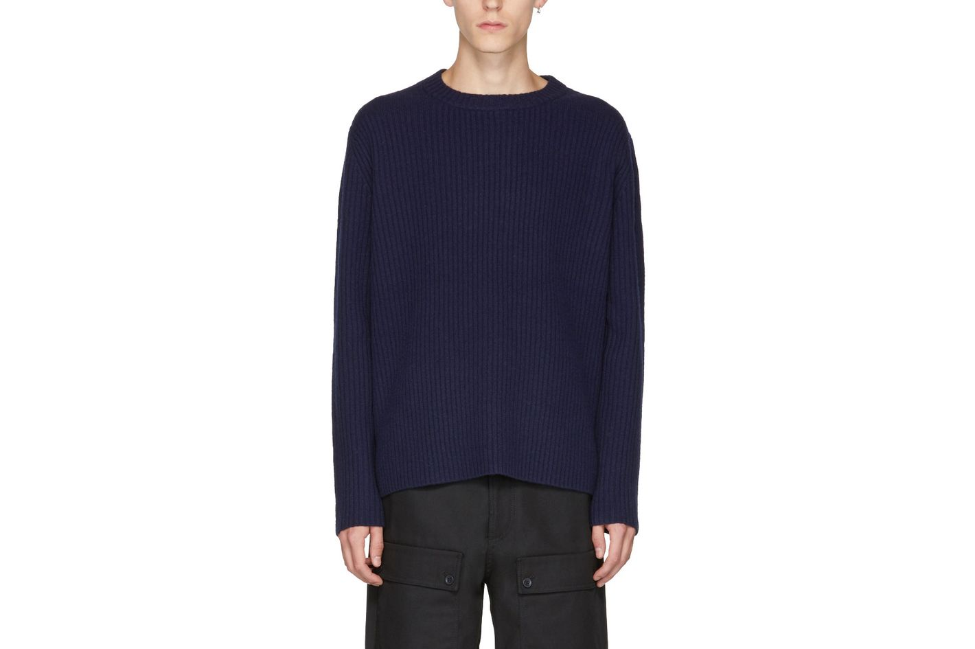 Acne Studios Navy Nicholas Sweater