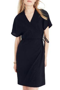 Madewell Gauze Wrap Dress