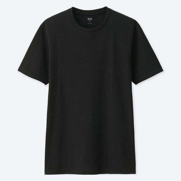 Uniqlo Men's Supima Cotton Crewneck Short-Sleeve T-shirt