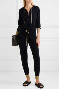 Madeleine Thompson Hooded Cashmere Jumpsuit