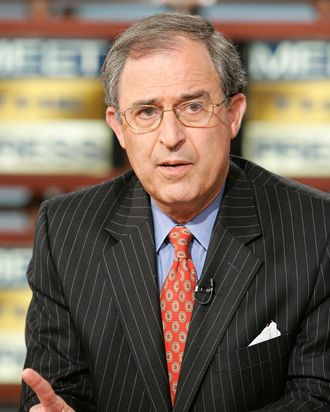 Lanny Davis speaks during a taping of