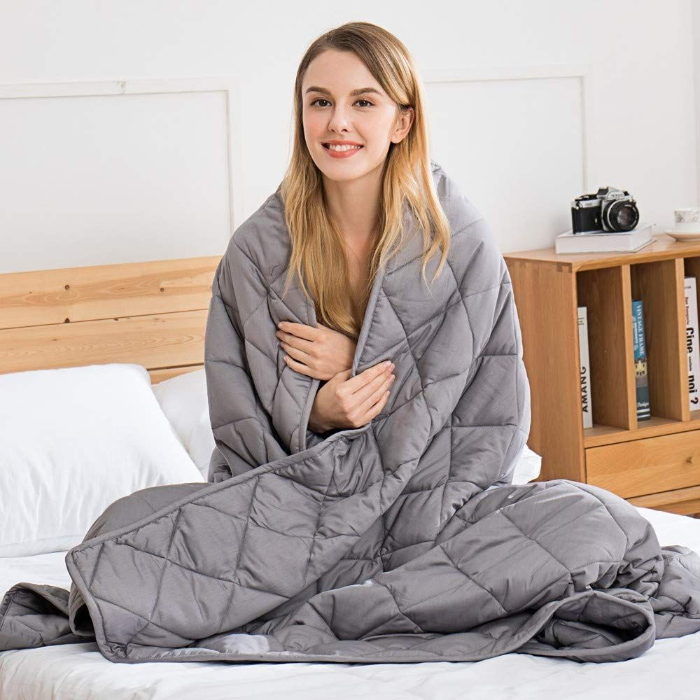 Amazon's Best-Reviewed Weighted Blanket Is Now Just Over £50