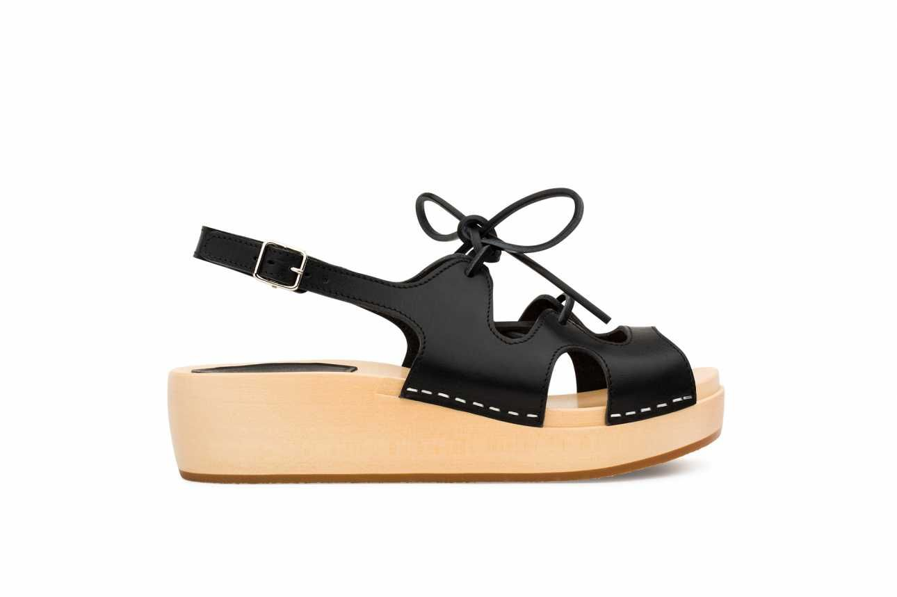 Swedish Hasbeens Lace-Up Sandal