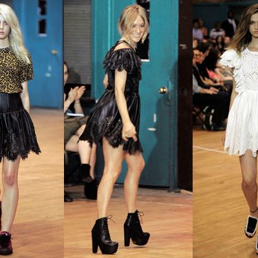 Looks from Chloë Sevigny for Opening Ceremony's Resort 2012 collection.