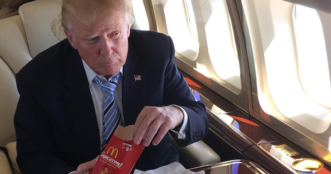 President Trump Reportedly Drinks 12 Diet Cokes Per Day
