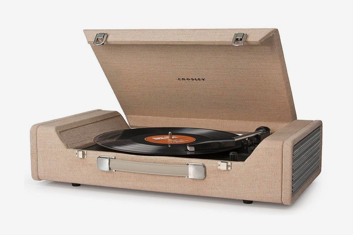 Crosley CR6232A-BR Nomad Portable USB Turntable