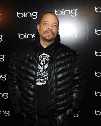 Rapper/Actor Ice T