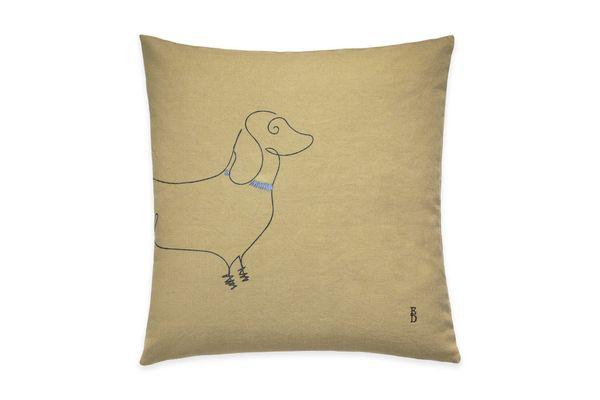 ED Ellen DeGeneres Dachshund Throw Pillow