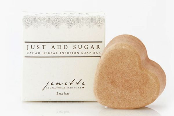 Jenette Skin Care Just Add Sugar Cacao Herbal Infusion Soap Bar