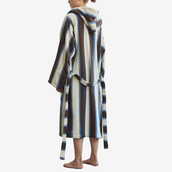 Tekla Cocoa White bathrobe
