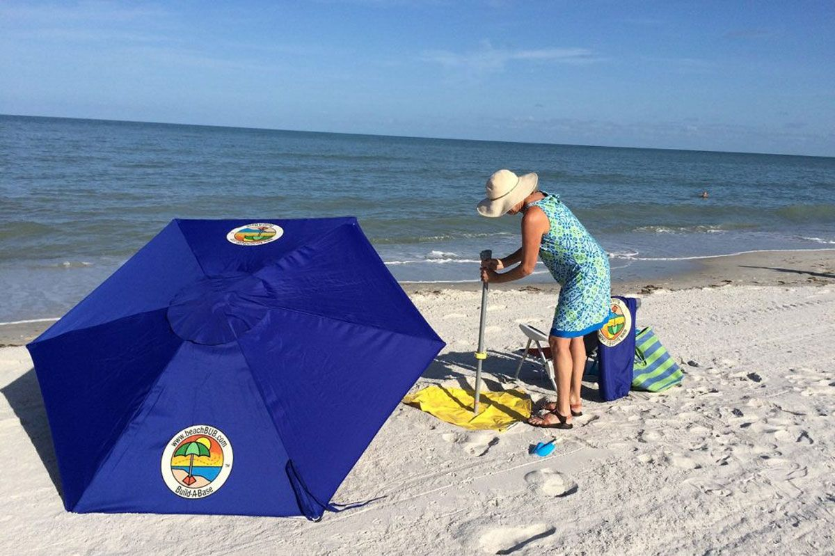 Best No Digging Beach Umbrella