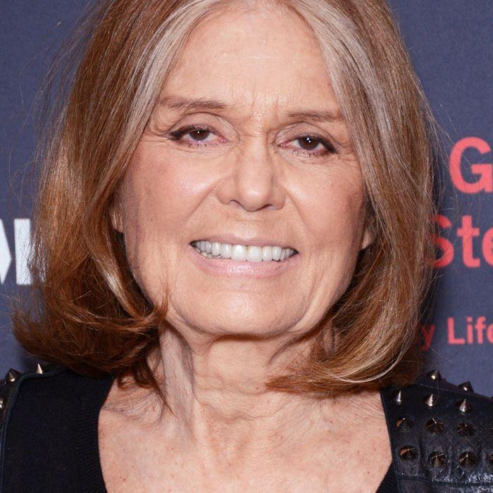 Hillary Clinton; Gloria Steinem.