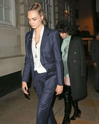 Cara Delevingne and St. Vincent.