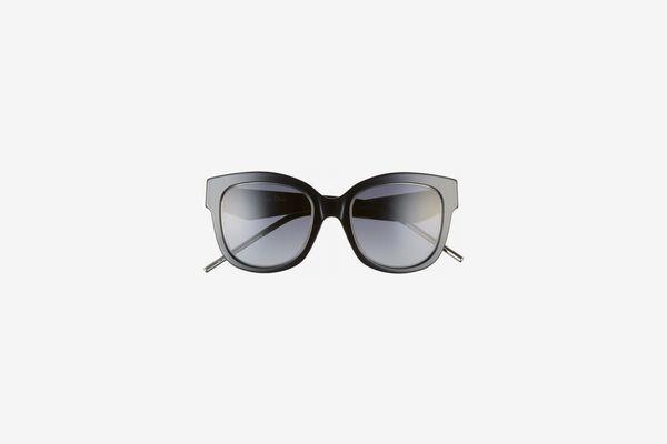 Very Dior 51mm Round Sunglasses