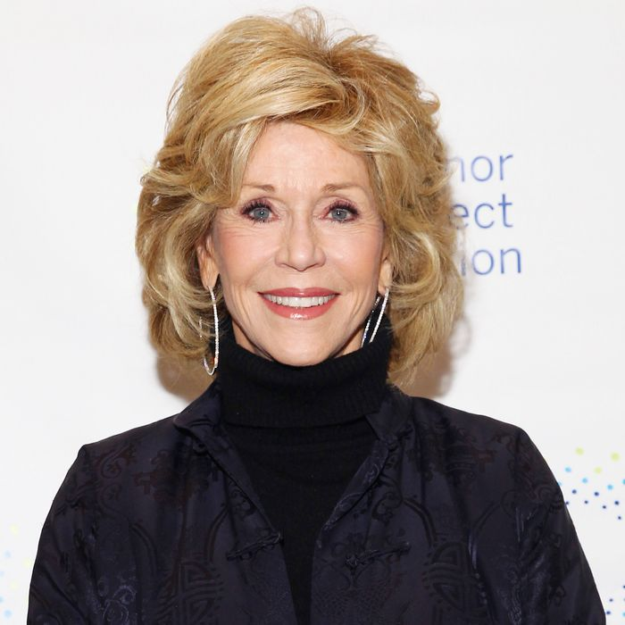 Jane Fonda knows peyote.