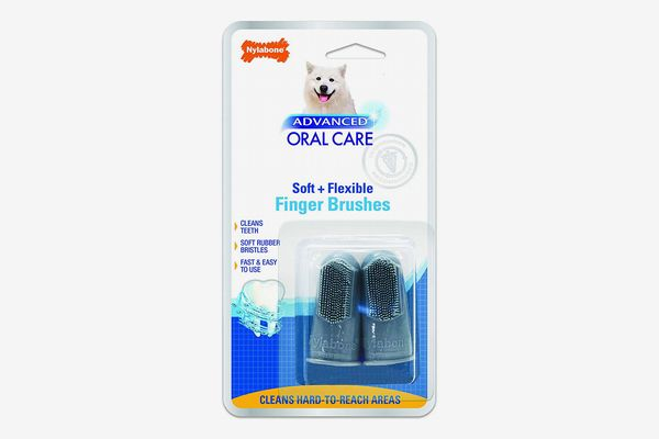 Nylabone Advanced Oral Care Dog Finger Brush
