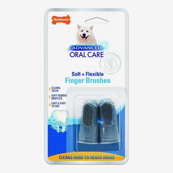 Nylabone Advanced Oral Care Dog Finger Brush