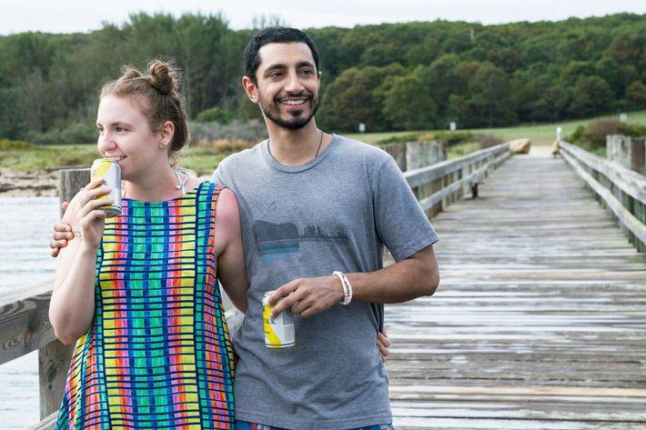 GIRLSSeason 6Lena Dunham and Riz Ahmed