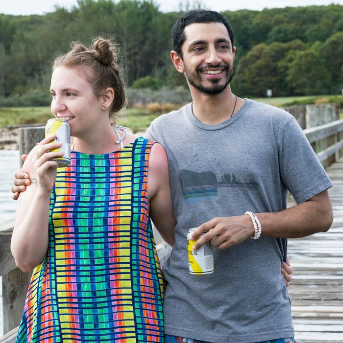 GIRLSSeason 6Lena Dunham and Riz Ahmed