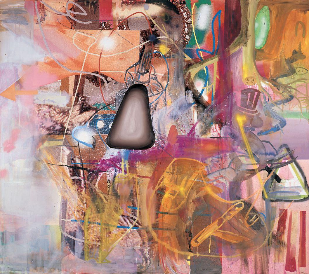 Pintura: Albert Oehlen