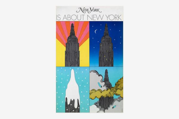 Milton Glaser: New York is about New York Poster