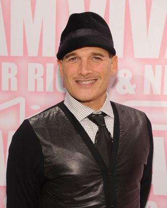 Phillip Bloch attends the MAC Cosmetics Viva Glam Party at Stage 37 on February 15, 2012 in New York City.