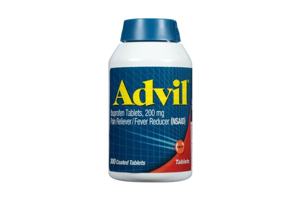 Advil Coated Tablets Pain Reliever and Fever Reducer, 300 Count