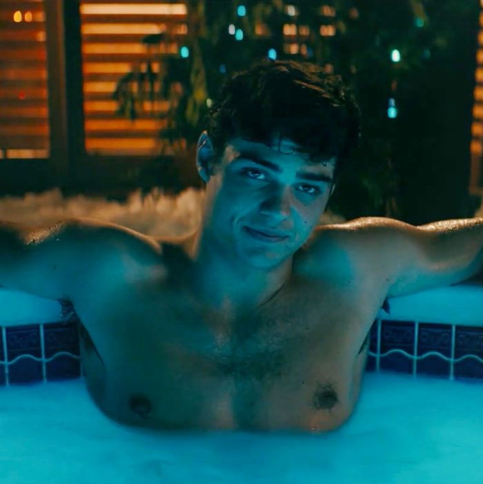 Noah Centineo as Peter Kavinsky in To All the Boys I've Loved Before