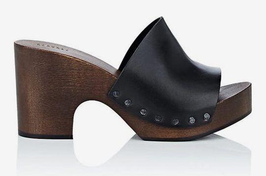 Barneys Leather Clog