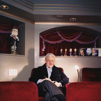 ca. 2005 --- Roger Ebert.