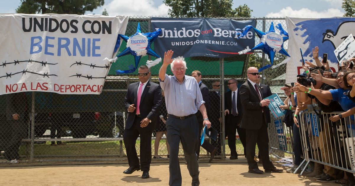 nymag.com - Ed Kilgore - Sanders's 'Secret Weapon:' Strong Latino Support