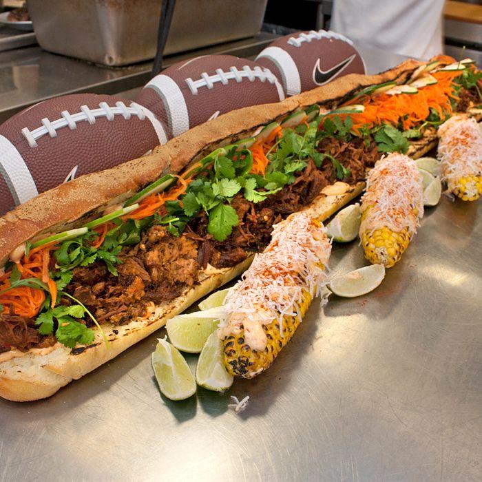 A big game requires a big sandwich.