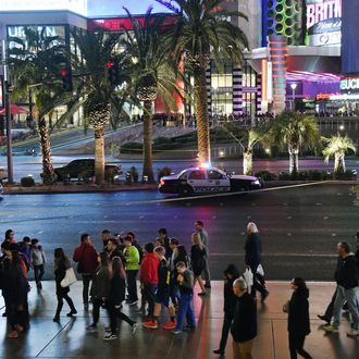 Dozens Injured As Car Plows Into Pedestrians On Las Vegas Strip