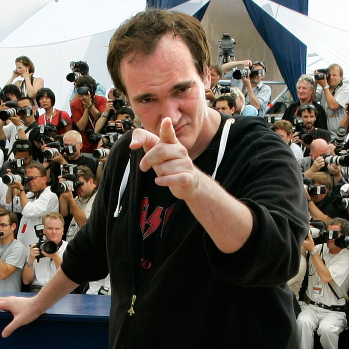 22 May 2007, Cannes, France --- U.S. director Quentin Tarantino at the photo call of