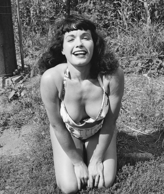 Pin-Up Bettie Page