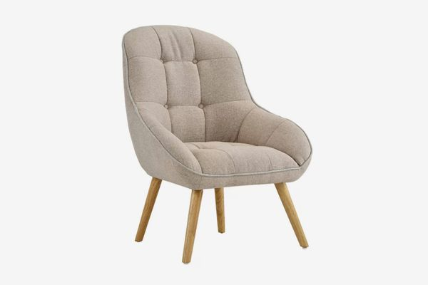 George Oliver Draeger Tufted Upholstered Armchair