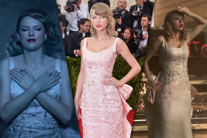 Every Old Taylor Taylor Swift Killed In Her Lwymmd Video