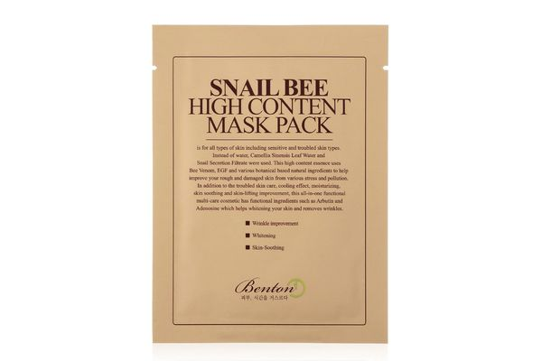 Benton Snailbee High Content Sheet Mask