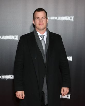 NEW YORK, NY - NOVEMBER 03: Writer Jonathan Nolan attends the
