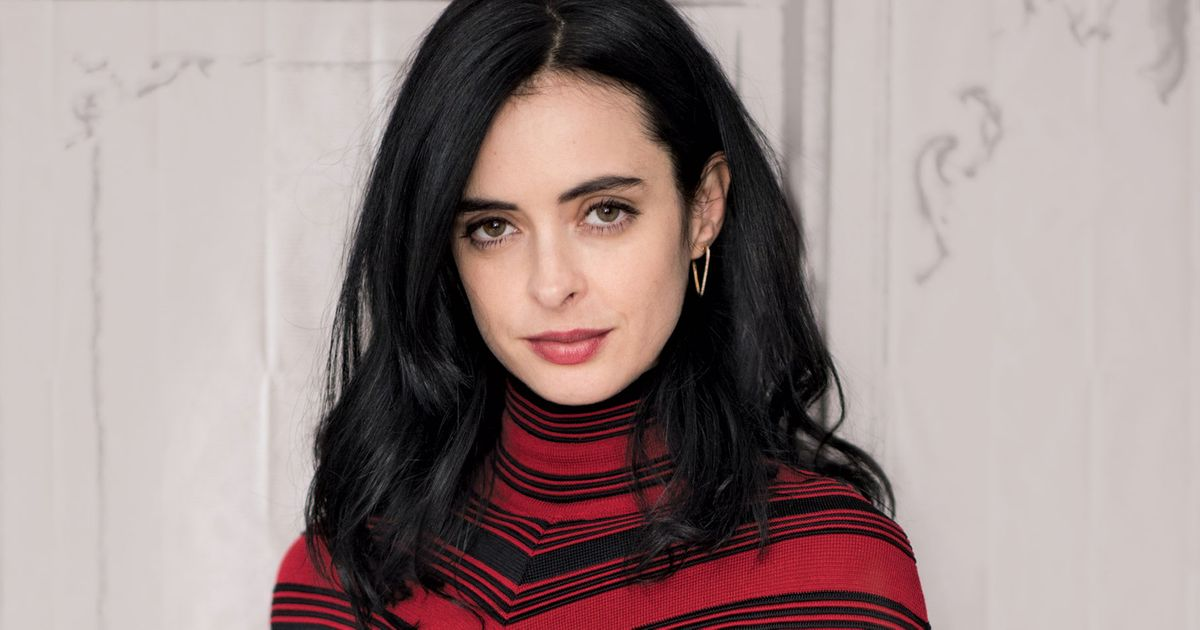 Knitting, and Talking Jessica Jones, With Krysten Ritter