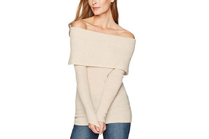 Lark & Ro Off the Shoulder Sweater