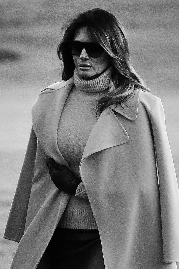 Melania Trump.