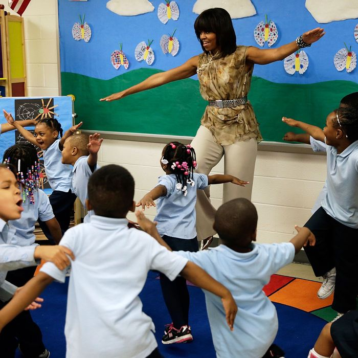 Michelle Obama, really fly.